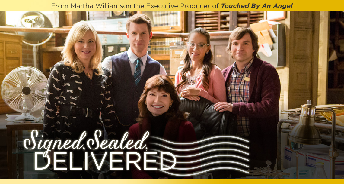 Signed, Sealed Delivered banner