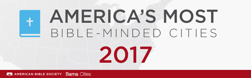 America's Most Bible-Minded Cities 2017