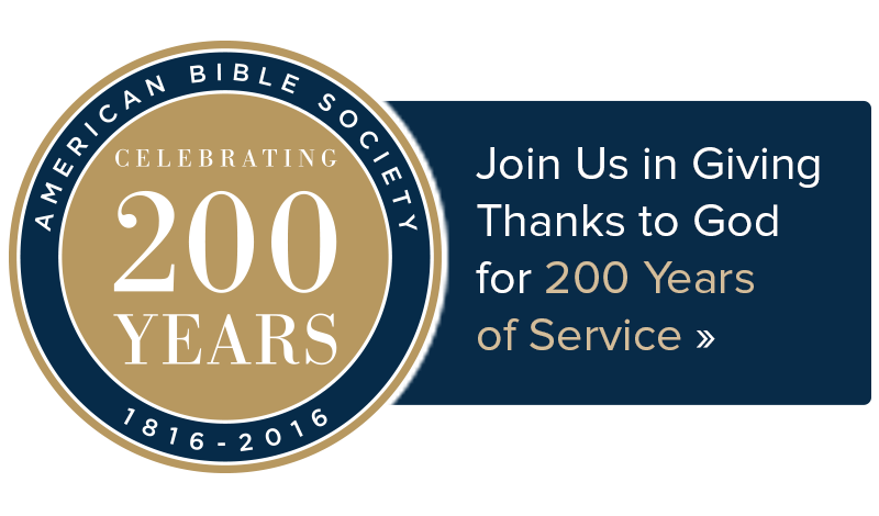 Join us in giving thanks for God for 200 years of service