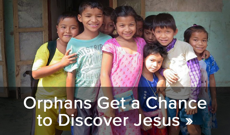Orphans get a chance to discover Jesus >