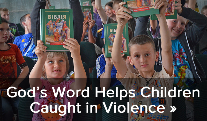 God's Word Helps Children Caught in Violence >