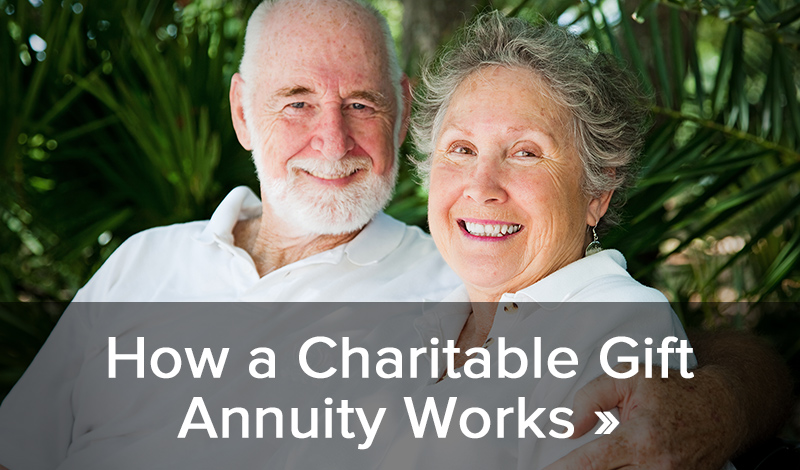 How a Charitable Gift Annuity Works >