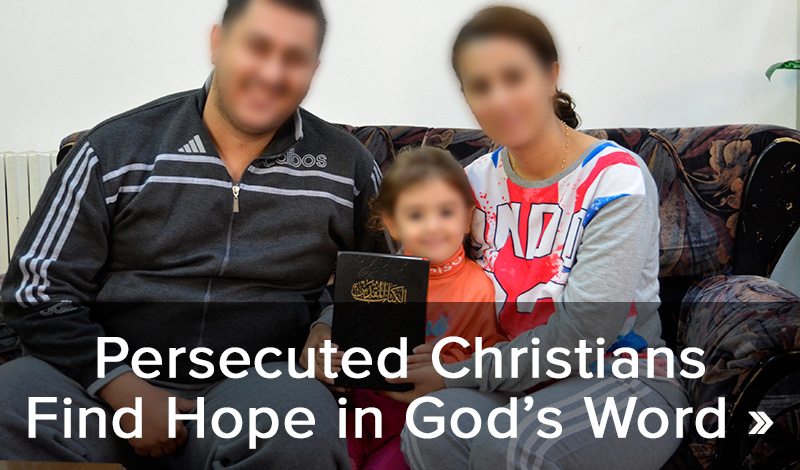 Persecuted Christians Find Hope in God's Word