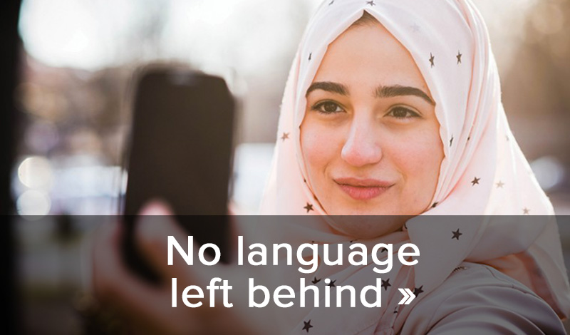 No language left behind