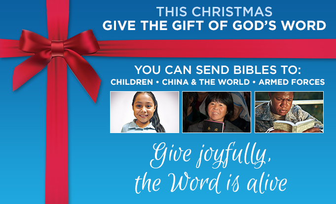 This Christmas Give the Gift of God's Word