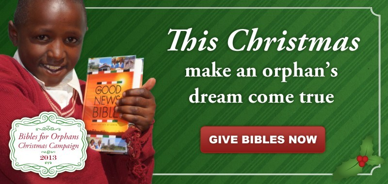 This Christmas make an orphan's dream come true