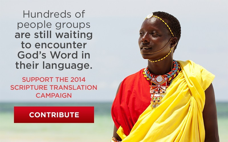 Hundreds of people groups are still waiting to encounter God's Word in their language